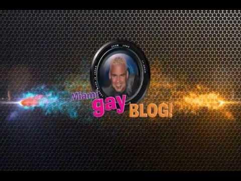 Miami Gay Blog Logo Presentation
