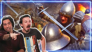 Sword Experts REACT to Kingdom Come: Deliverance | Experts React
