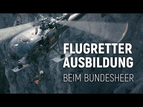Flugretterausbildung Beim Österreichischen Bundesheer