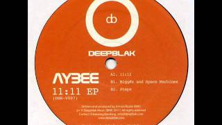 Aybee - Nigg#z And Space Machines - Deepblak DBR-V007