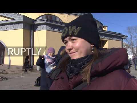 Russia: Muscovites react