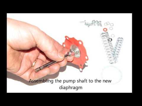 Porsche 356csc And 912 Fuel Pump Repair Instructions Youtube