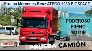 Prueba Mercedes-Benz ATEGO 1230 BIGSPACE