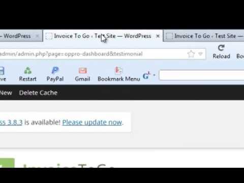 Invoice To Go Wordpress Plugin  Invoicetogo