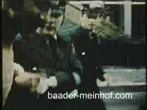 Capture of Andreas Baader in Frankfurt 1972