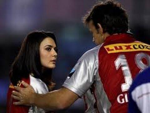 Angry Preity Zinta in IPL thumbnail