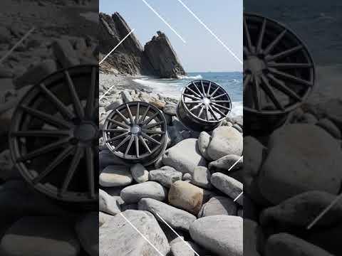 Диски Sakura Wheels, модель 9651 на море )) в отпуске...