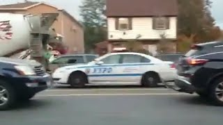 NYPD Chevy Impala Responding In NYC!!!!! thumbnail