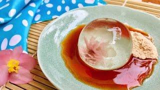 Cách Làm Bánh giọt nước Nhật Bản | How To Cook Raindrop Japan Cake Mochi | Hà Ly Cooking