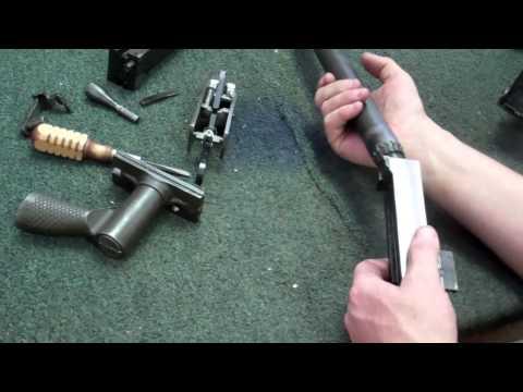 Gunsmithing Disassembly Browning 1919 Machine Gun Disassembly and Reassembly (Gunworks)
