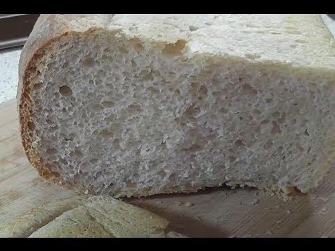 белый хлеб в духовке рецепт пошагово в