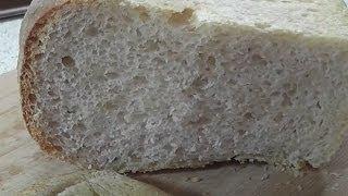 Вкусный домашний белый хлеб в духовке