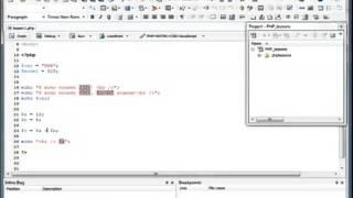 PHP+MySQL   Урок 2 Переменные (Разработка wap/web приложений)