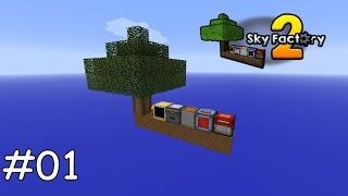 Minecraft Sky Factory 2 - 01 - Ein Start auf dem Baum [deutsch]