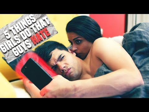 5 Things Girls Do That Guys HATE! (ft. Lilly Singh) | D-trix