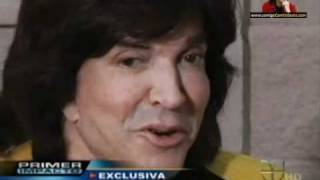 "Ángela Carrasco & Camilo Sesto - Entrevista USA 1 ""La Gira del Adiós"" - 10/May/2011"