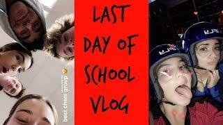 last day of school vlog indoor skydiving izaaksummer