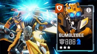 Premium Crystals, Bumblebee Level Ups & Battles | TRANSFORMERS: Forged to Fight