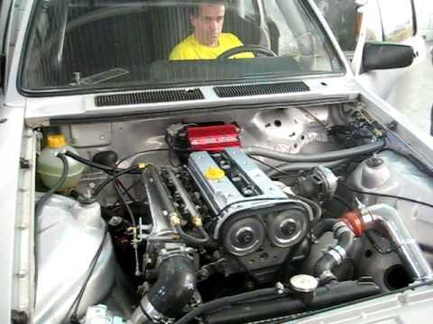 Chevette com Motor Vectra 2.2 Turbo-Nitro