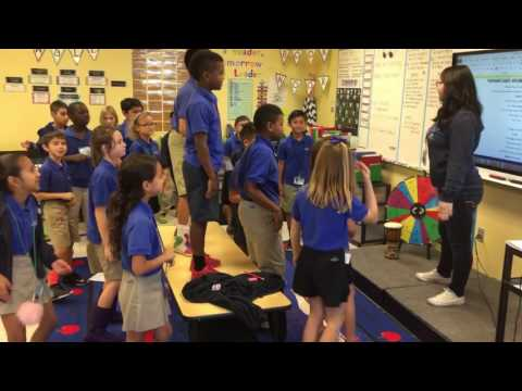 Bruno Mars 24k Magic Classroom morning song