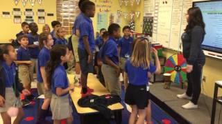 Bruno Mars 24k Magic Classroom morning song
