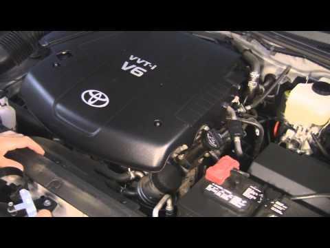 Toyota Tacoma Gen2 Oil & Air Filter Change DIY 1GR-FE 4.0 L V6 Engine 2005-2013
