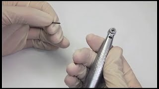 W&H Handpieces - Change rotary instruments