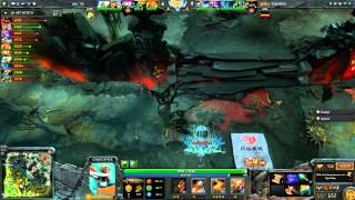 Dota 2 - TI3 - Dendi Destroy TongFu as Pudge (7 Fountain Hooks)