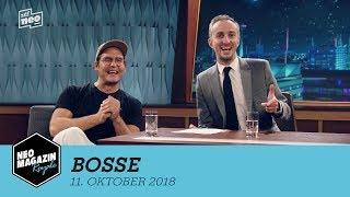 Bosse zu Gast im Neo Magazin Royale mit Jan Böhmermann - ZDFneo