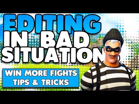 Win More Games! | Editing Your Way Out Of Bad Situations Tips & Tricks | Fortnite Battle Royale