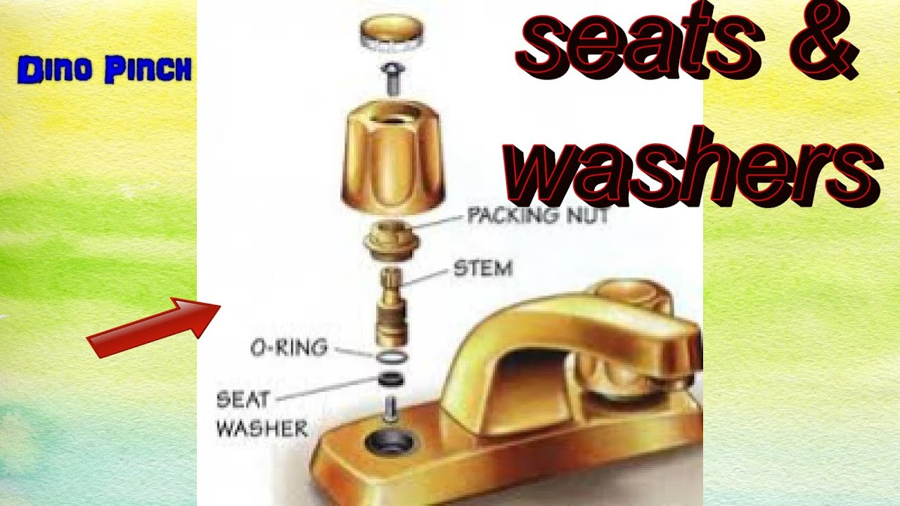 Bathroom Faucet Valve Seat replace washers & seats faucet leak - youtube