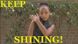 shining affirmation video lauren inspires beyonce jay z dj khaled
