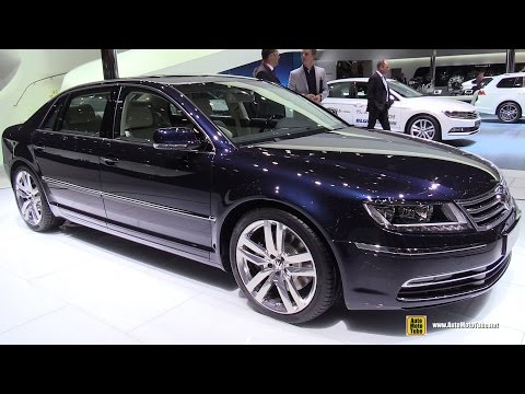 2015 Volkswagen Phaeton Exclusive TDI V6 Exterior and Interior Walkaround 2015 Geneva Motor Show