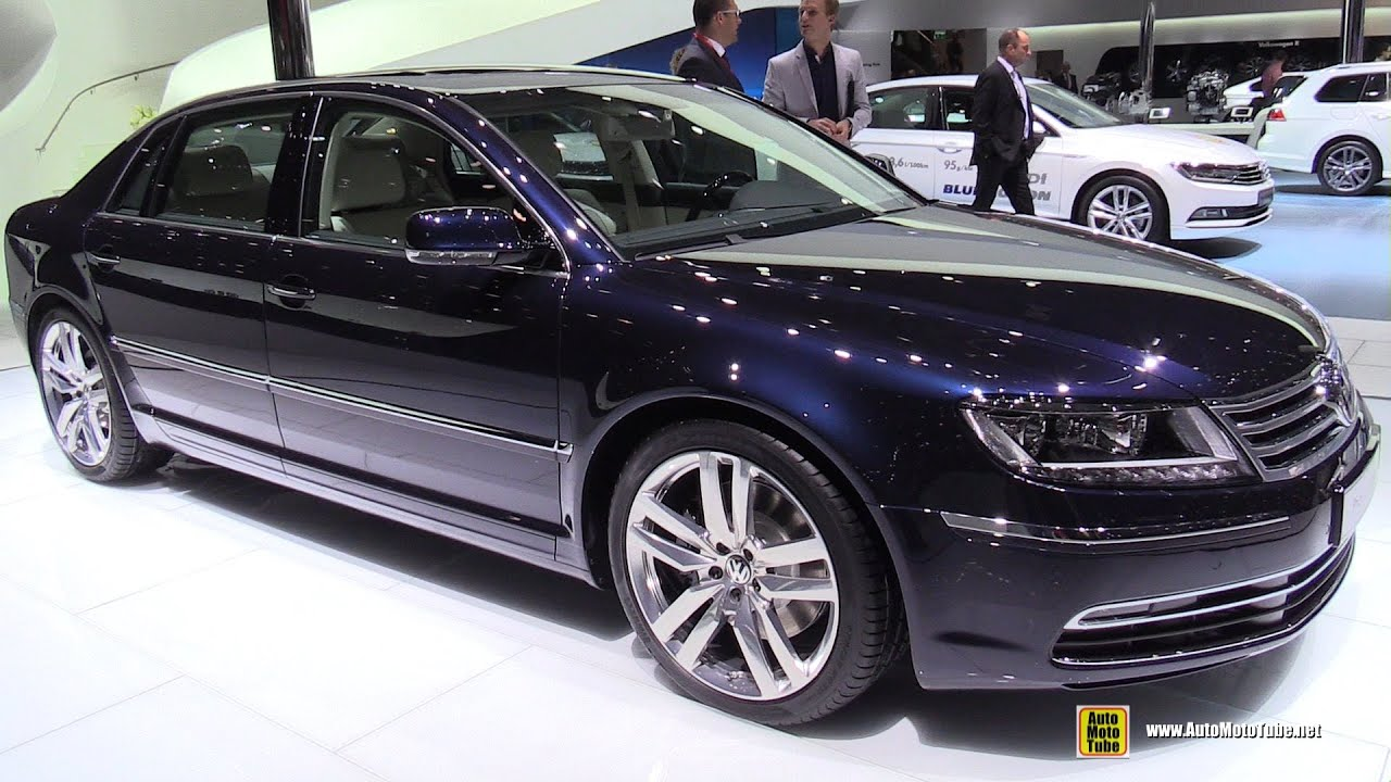 2015 Volkswagen Phaeton Exclusive TDI V6 - Exterior and Interior Walkaround - 2015 Geneva Motor ...
