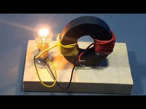 How to make Free Energy Generator Magnet Coil 100% Real | science projects
