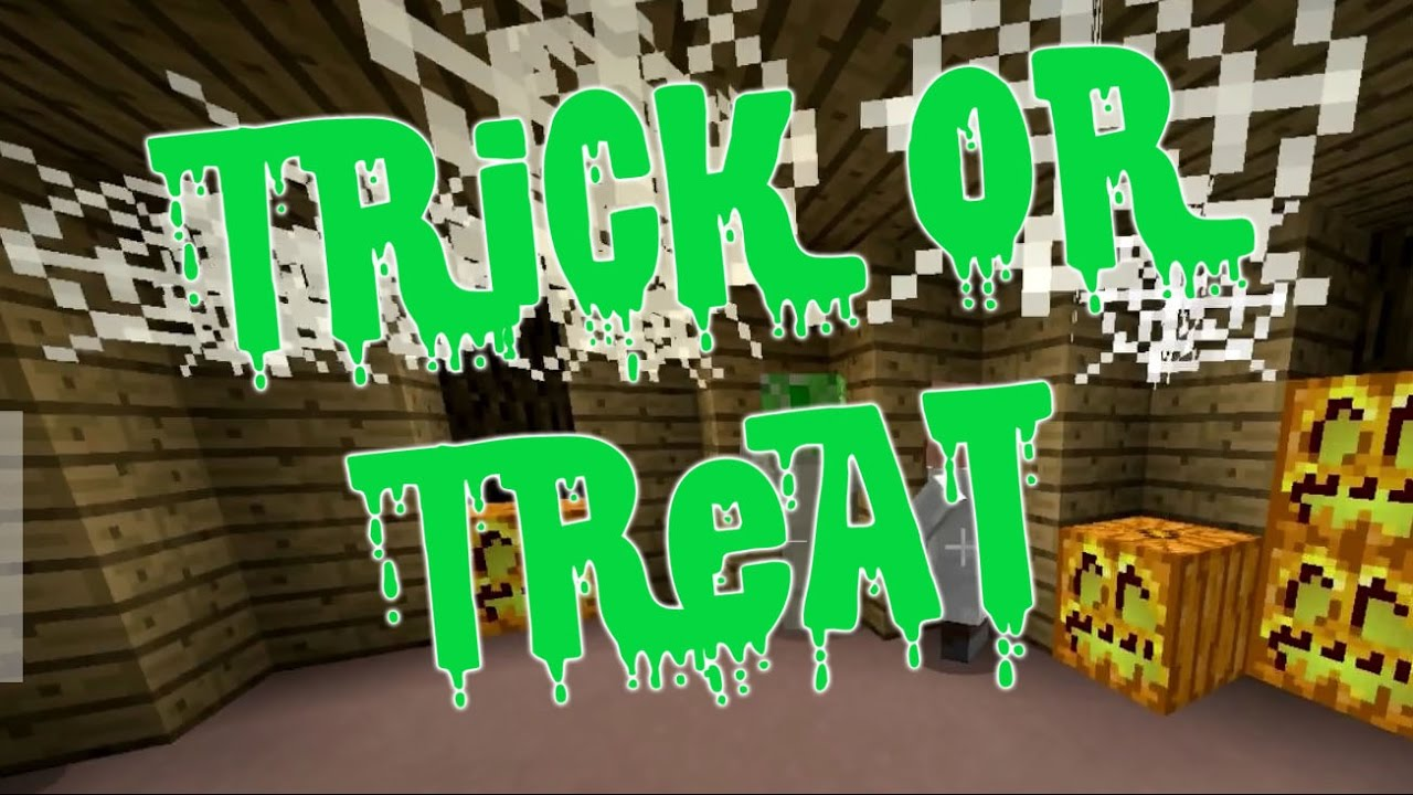 Halloween Party! Minecraft Trick or Treat - YouTube