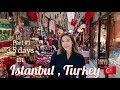TRAVEL // 伊斯坦堡 , 土耳其 part 1 in Istanbul , Turkey // 2019