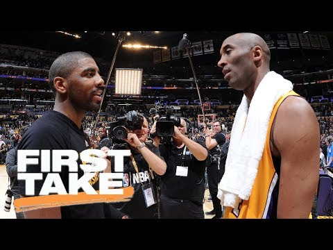 Stephen A. asks Kyrie Irving about Kobe Bryant