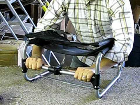 larry chair kayak ergonomic insert 101 youtube