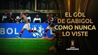 El gol de GABIGOL con una cámara INÉDITA | Flamengo Campeón | Libertadores 2019