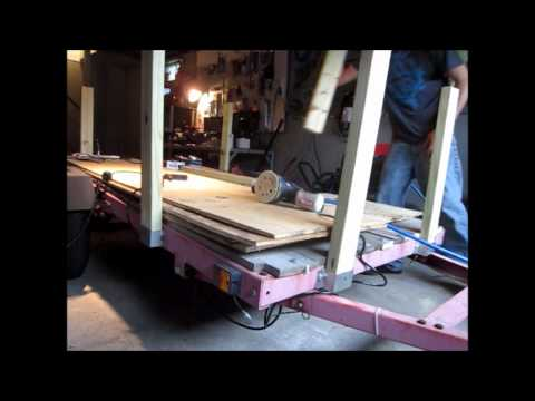 How to build Utility Trailer sides