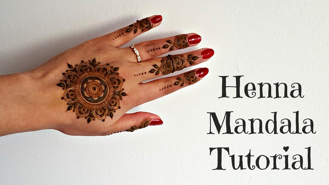 Easy Henna Tutorial Henna Art By Aroosa Youtube