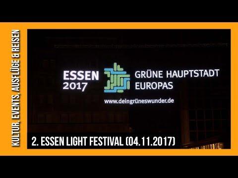 68. Essener Lichtwochen und Essen Light Festival 2017