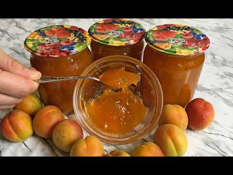 Быстрое и Густое Абрикосовое Варенье / Варенье из Абрикосов как Мармелад / Apricot Jam Recipes