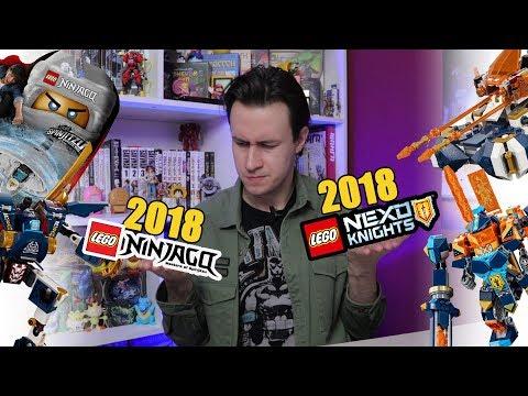 LEGO NEXO Knights 2018 против Ниндзяго 2018.  Кто лучше?   [Geek-патруль #2]