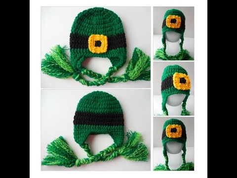 Leprechaun Hat - St. Patrick s Day Baby to Adult Sizes - - YouTube fe01f086aec