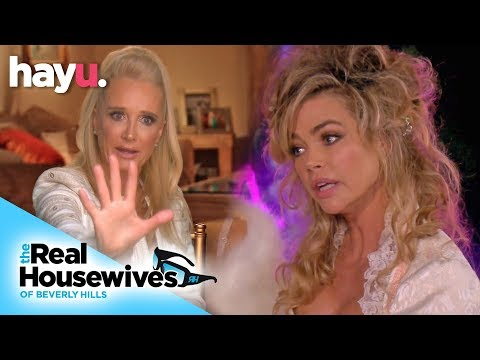 Denise Defends Lisa Rinna Against Kim Richards | Season 9 | Real Housewives Of Beverly Hills!