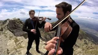 """""""Mission : Impossible"""" soundtrack arrangement for 2 violins, by Bad..."""