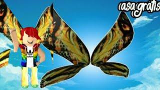 Come ottenere l'ala farfalla su Roblox GRATIS Codici ROBLOX-Promo