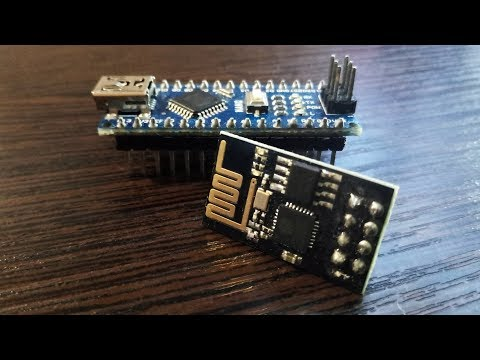 ESP8266(ESP-01). Blynk. Настройка для работы в связке с Arduino